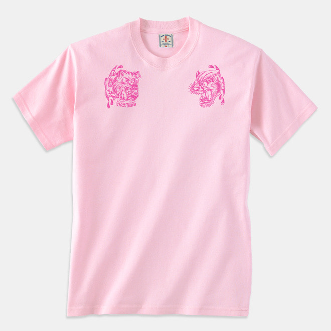 Angry Animals T-Shirts pink