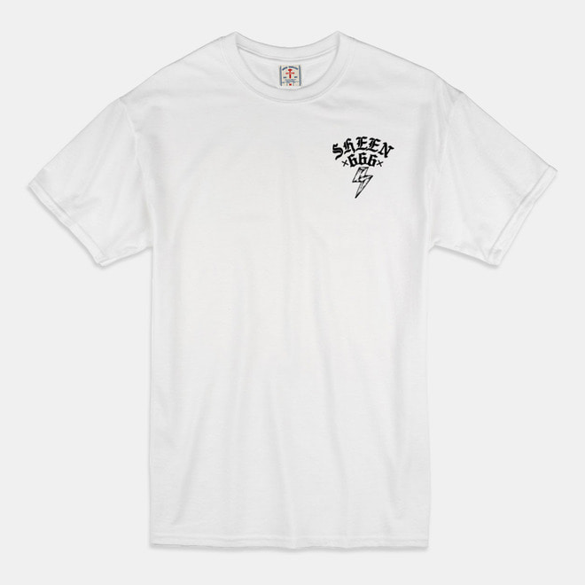 [예약할인 20%] Fxxk You T-Shirts white/black