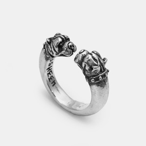 [Studio Edition] Crazy Dog Silver Ring