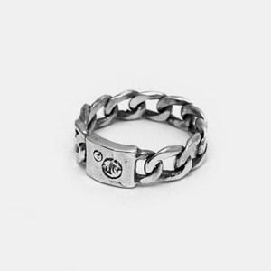 576 Link Silver Ring