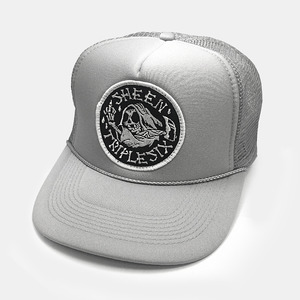 Reaper Patch Mesh Trucker Cap by OTTO Cap grey