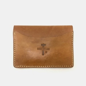 575 #075 LTD Card Holder Horse Leather dirty natural