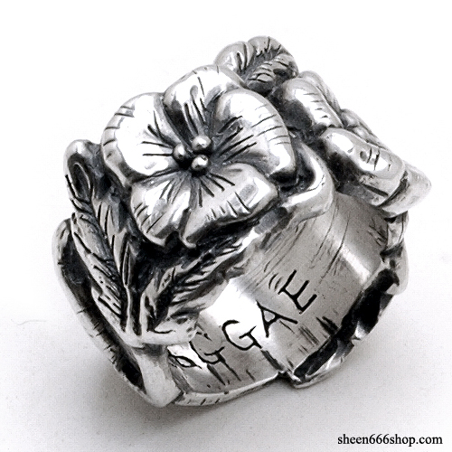 Hibiscus Custom Ring