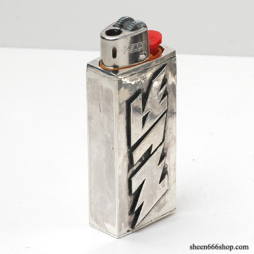 VoVo x TripleSix Collaboration BIC Silver Lighter Case