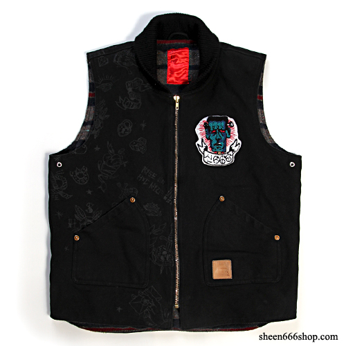 Machinehead Canvas Work Vest