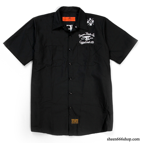 Flying Skull Work Shirts by Redkap