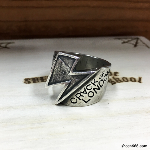 Crack Of London x Triplesix Collaboration Rings 18호